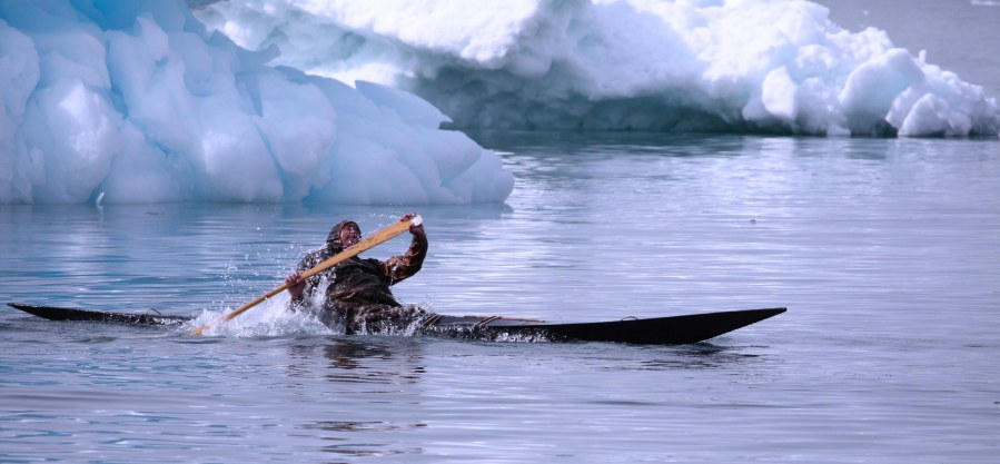 Greenland Kayaker Photo Credit: Matthew Walls