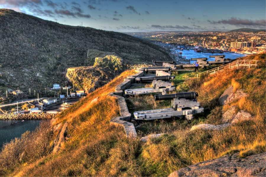 Signal Hill Overlooking St. John's © Ted Dyke