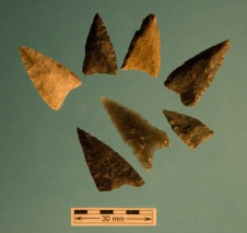 Dorset Harpoon Endblades Found in the Peat Garden North site at Bird Cove_3