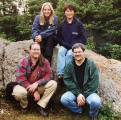 Latonia Hartery, Miki Lee, Tim Rast and Dale1999_2